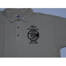 Green Country MG Register 40 Year Ladies Polo Shirt 2XL-3XL