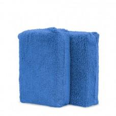 Adam's Blue Microfiber Applicator Pads (2-Pack)